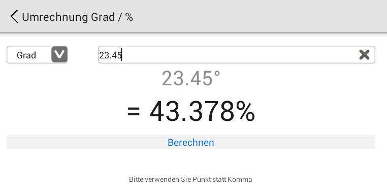 Umrechner Prozent